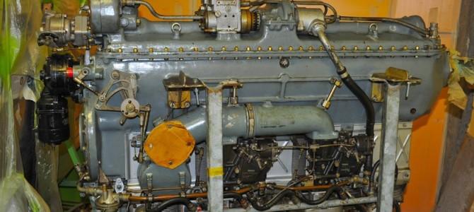 Arrivo del motore Gipsy Queen 30 (2009) – Gipsy Queen 30 engine arrival (2009)